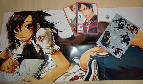 Geschenke Carlsen Manga Scout 2011