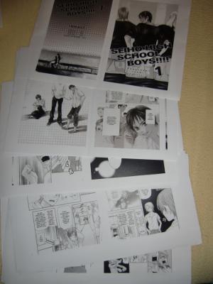 Manga-Manuskript Seiho High School Boys