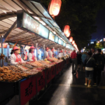 Essen in Peking Night Market und Snack Street 1
