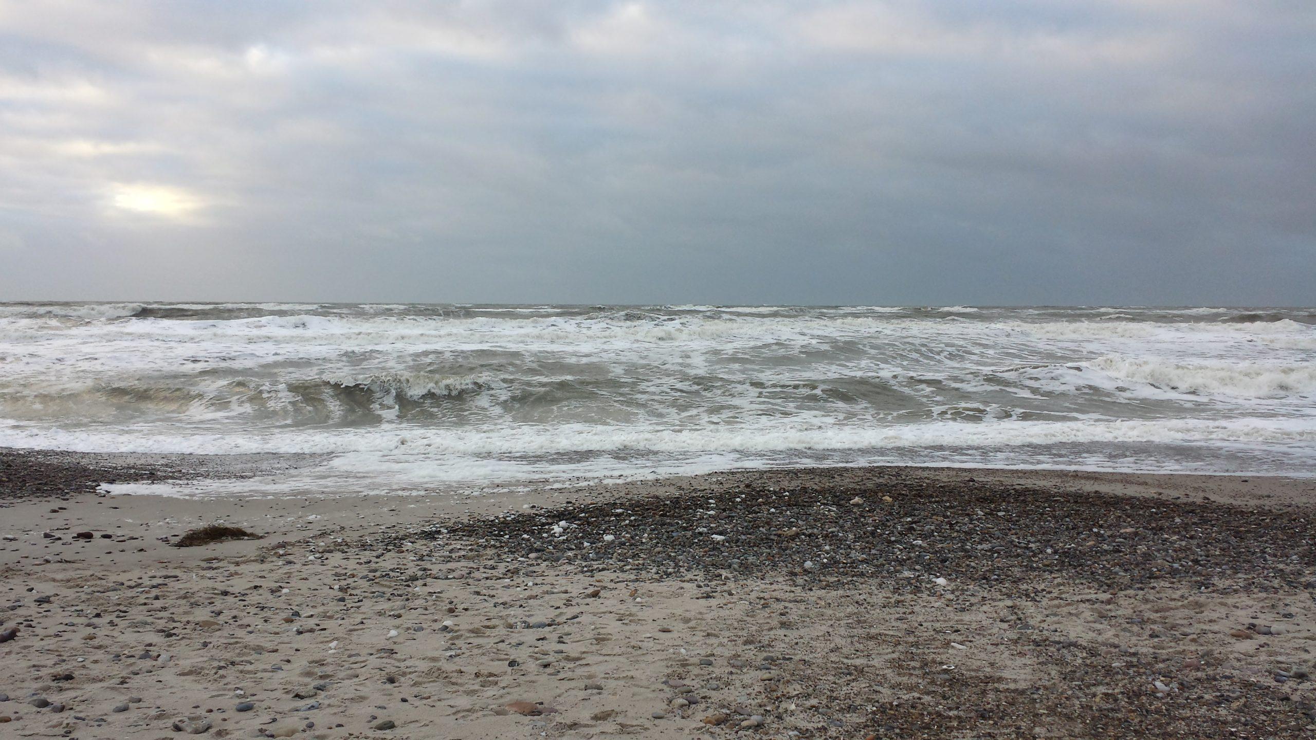 Die Wellen schlagen hoch