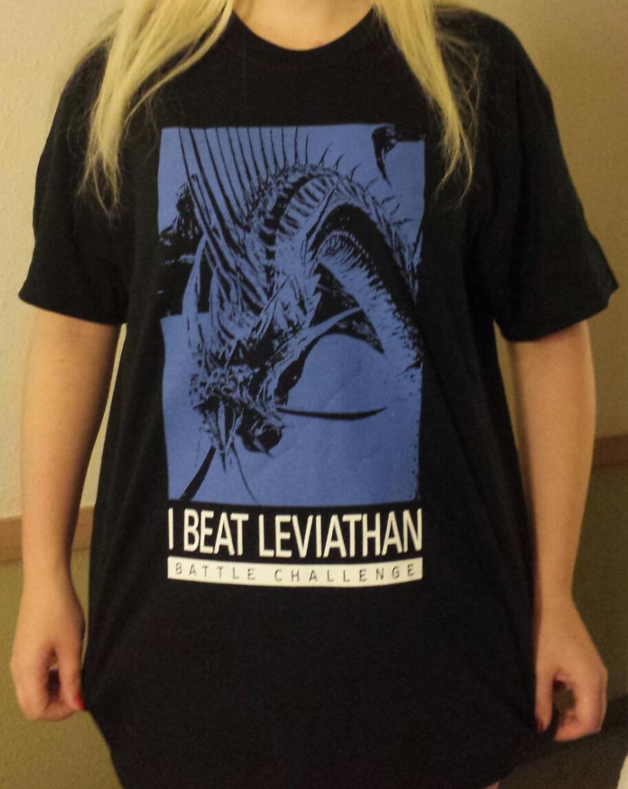 Das gewonnene T-Shirt :) Final Fantasy A Realm Reborn