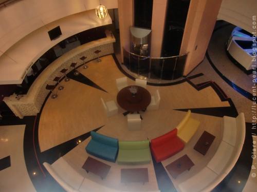 Lobby des Haupttraktes