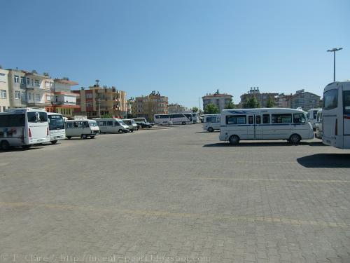 """Dolmus """"ZOB"""" in Manavgat"""