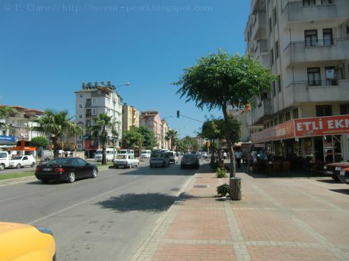 Hauptstraße in Manavgat