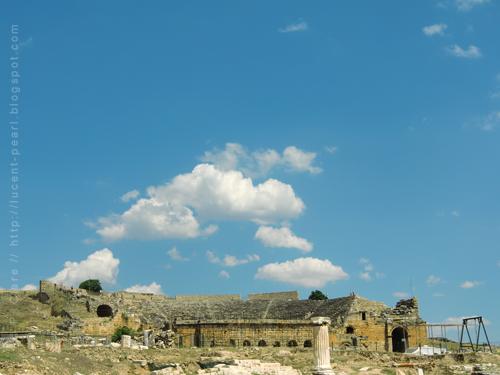 Auf dem Weg zum Colosseum