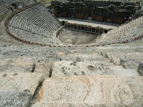 Das Colosseum von innen