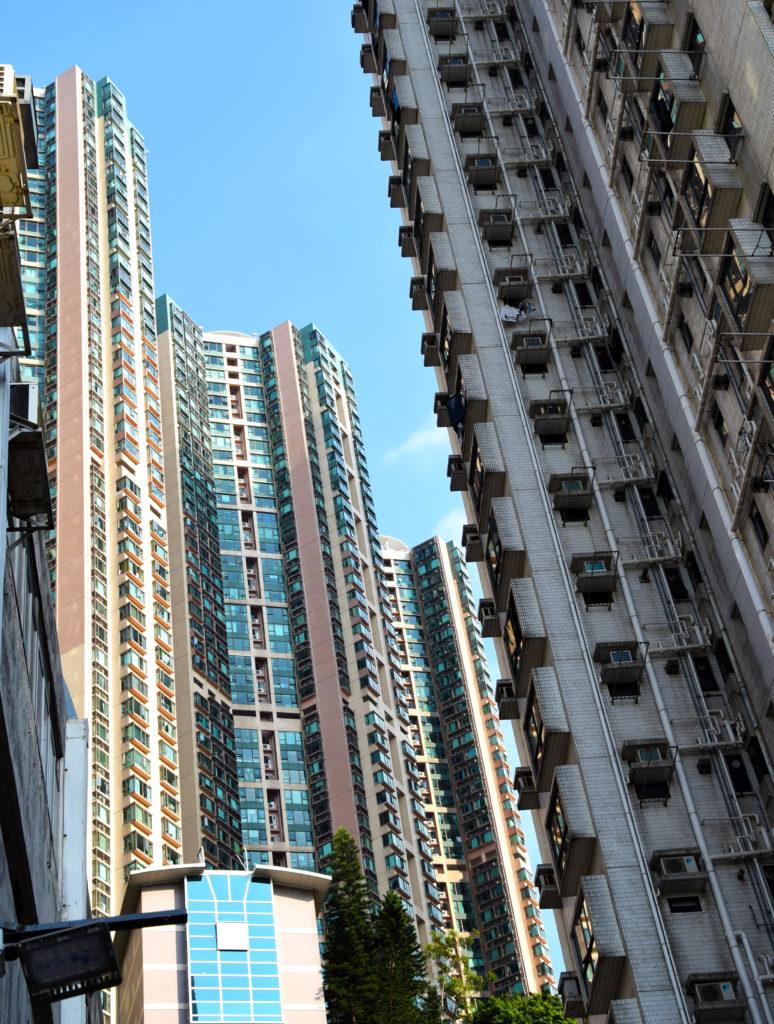 Hong Kong Wohnhäuser