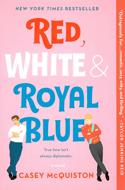 Red, White & Royal Blue Buchcover